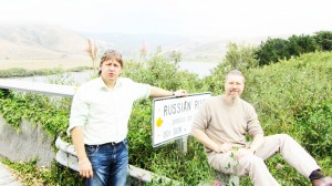 Игорь Гришин и Денис Тимофеев на Russia River